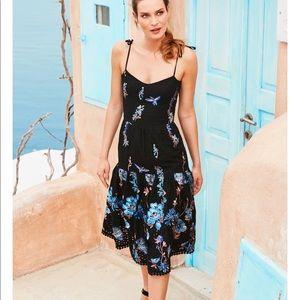 Dress the Population Abbie Floral Eyelet dress